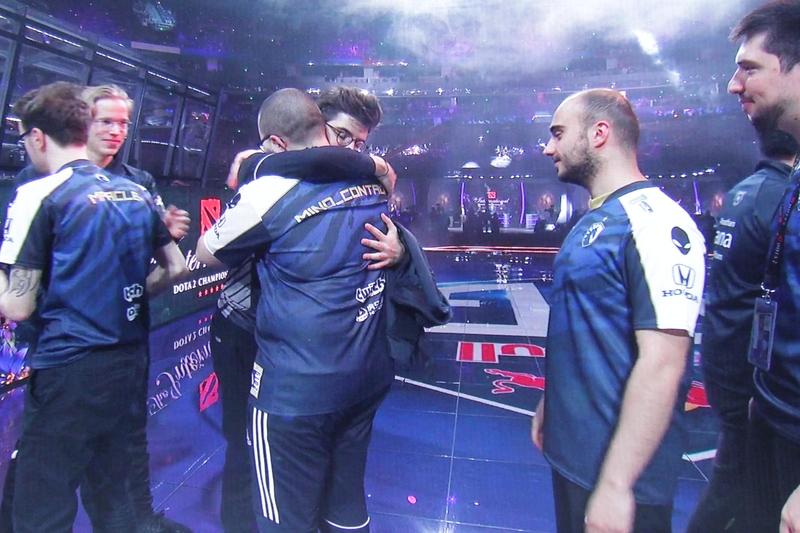 Team Liquid поздравляет OG на The International 2019