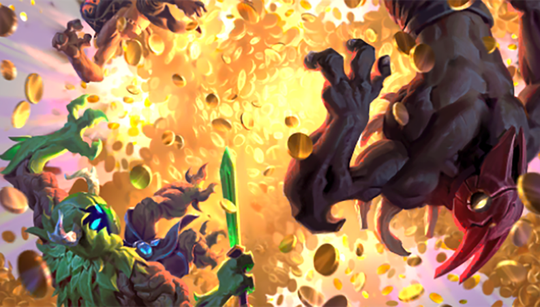 New blue Artifact card revealed: Wrath of Gold