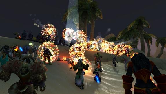 На ролевом сервере World of Warcraft организовали фестиваль Burning Man
