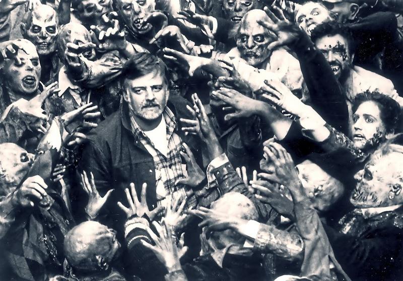 Джордж Ромеро на съемках «Ночи живых мертвецов»