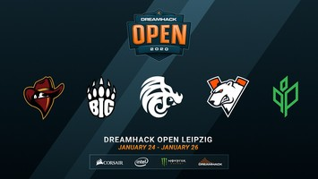 Virtus.pro will play in DreamHack Open Leipzig 2020