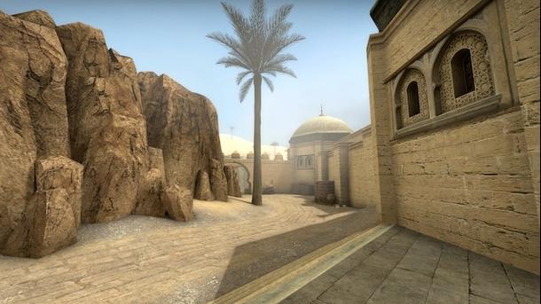 Адаптированная версия третьей карты Dust в CS:GO