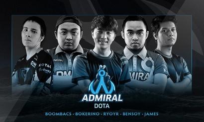 Team Admiral представила обновленный состав по Dota 2