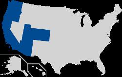 Границы Pac-12