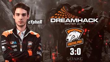 Cypher выходит в плей-офф, а Av3k и BunnyHoppor досрочно покидают турнир