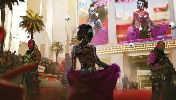 Девушка Илона Маска сыграла героиню Cyberpunk 2077 и заспойлерила её сюжетную линию