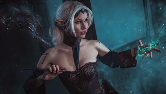 Кровавый ритуал — косплей на Нерию Сурану из Dragon Age: Origins
