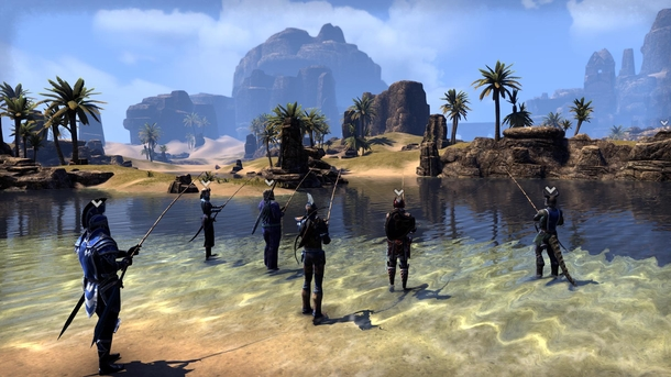 Collective fishing at The Elder Scrolls Online