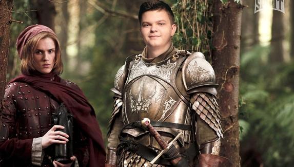 Сир Барристан Сильвер и Джон Сноудайянг. Игроки Team Spirit примерили образы из «Игры престолов»