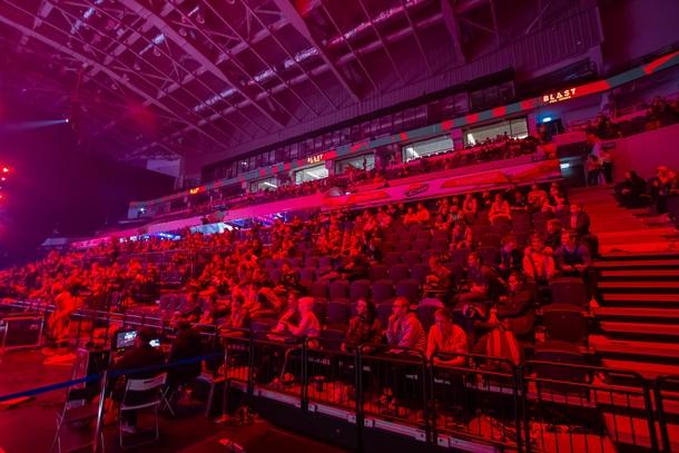 Зрители BLAST Moscow во время гранд-финала | Источник: Cybersport.ru