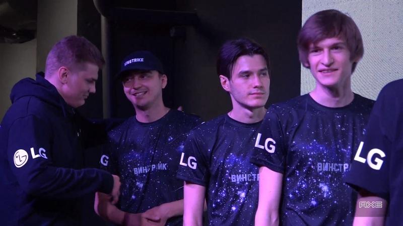 Winstrike Dota 2 team demonstrates their updated jerseys