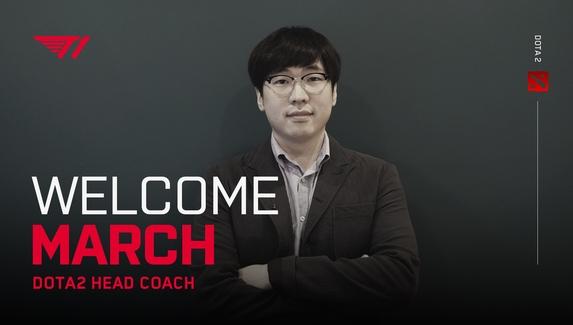 March стал тренером T1