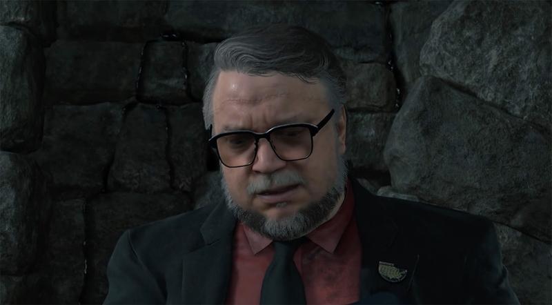 Персонаж Гильермо дель Торо в Death Stranding. Источник: Kojima Production