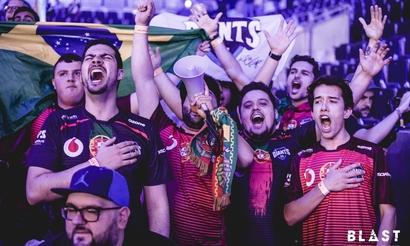 Как португальские фанаты радовались выходу местной команды на BLAST Pro Series Madrid 2019