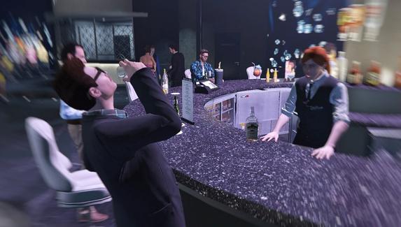 В GTA 5 нашли секретное задание — для его активации нужно напиться в баре
