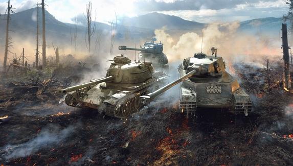 В World of Tanks вышло обновление 1.7