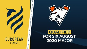 Virtus.pro will play in Six August 2020 Major