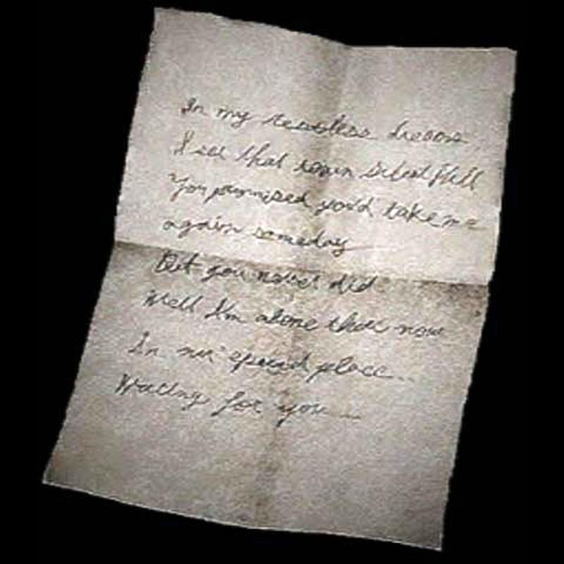 Письмо Мэри в начале...