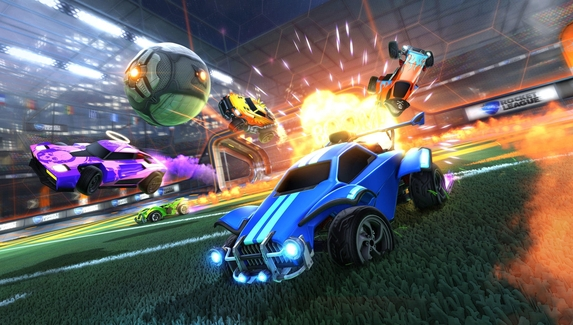 Пиковый онлайн Rocket League достиг миллиона игроков