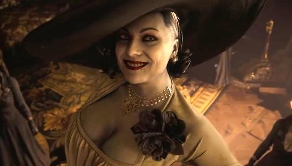 Фанаты сравнили рост Леди Димитреску и главного героя Resident Evil Village
