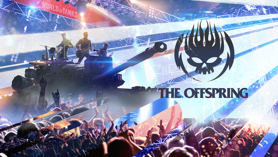 В World of Tanks добавили танк в стиле панк-рока и экипаж The Offspring