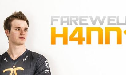 Fnatic расстаются с H4nn1