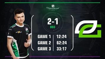 Virtus.pro defeated OpTic Gaming