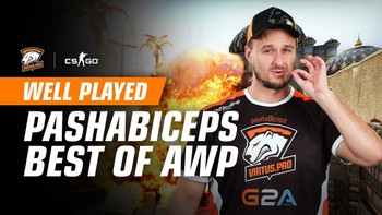 Well played. pashaBiceps best AWP kills in 2017