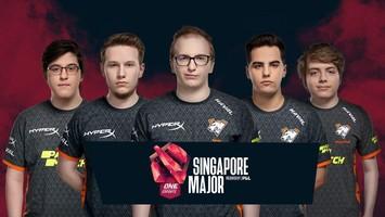 Virtus.pro занимает 7-8 место на ONE Esports Singapore Major 2021