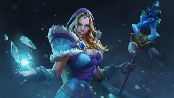 Мидовая Crystal Maiden уничтожает соперников — блогер придумал безумную стратегию в Dota 2