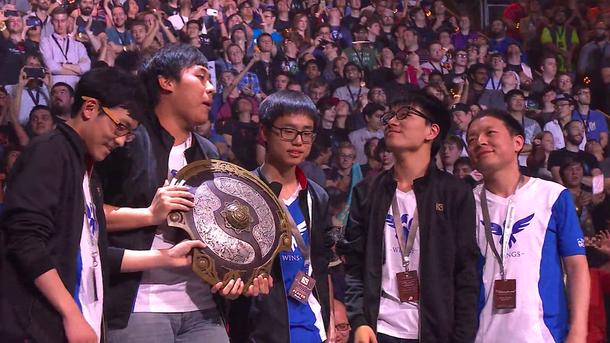 Чемпионы TI6