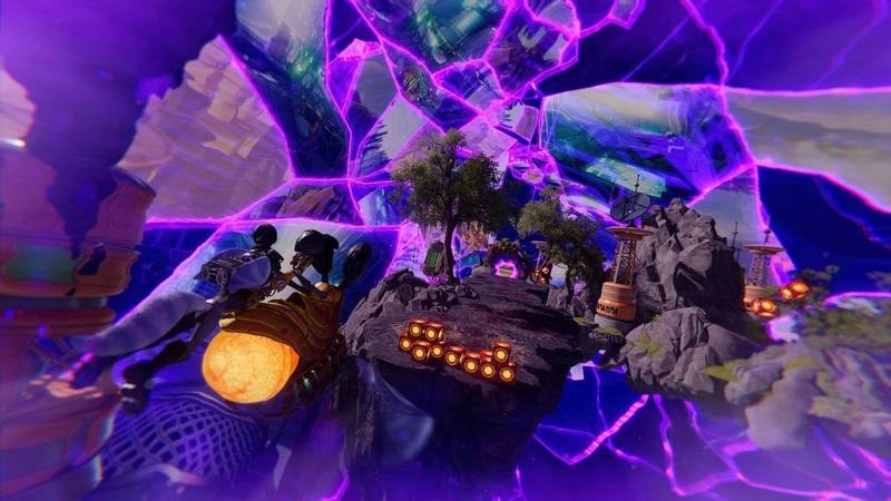 Гонка на жуке в Ratchet and Clank: Rift Apart
