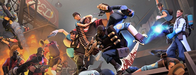 TF2 sits at the top of the all-time player standings