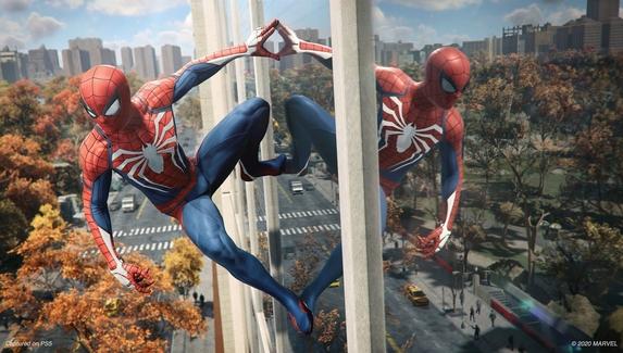 Опубликовано сравнение Marvel's Spider-Man на PS4 Pro и PS5
