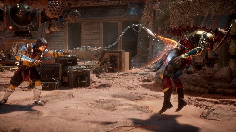 Кадр из Mortal Kombat 11