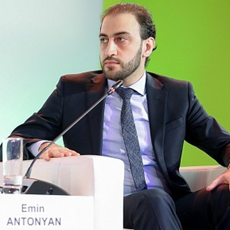 Эмин Антонян, генеральный секретарь ФКС России