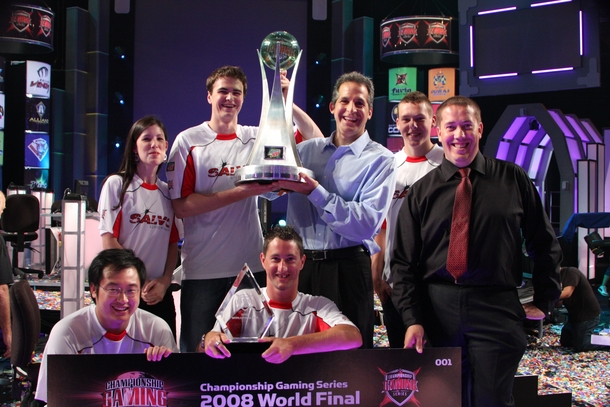 Чемпион CGS 2008 World Championship — Birmingham Salvo