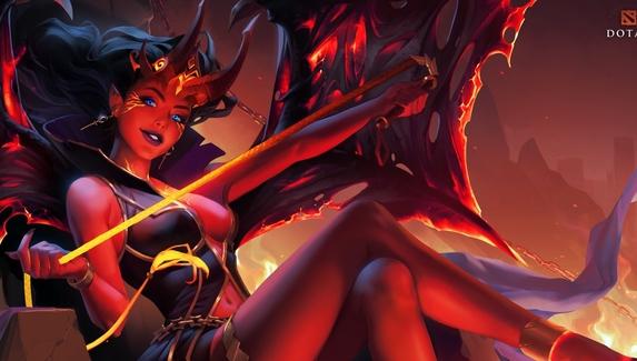 Valve представила аркану для Queen of Pain