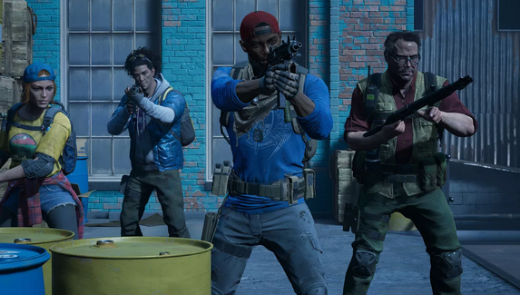 Опубликованы новые геймплейные видео кооперативного зомби-шутера Back 4 Blood