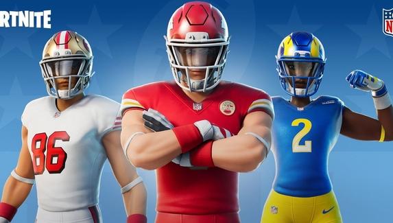 В Fortnite добавят новые скины всех команд NFL