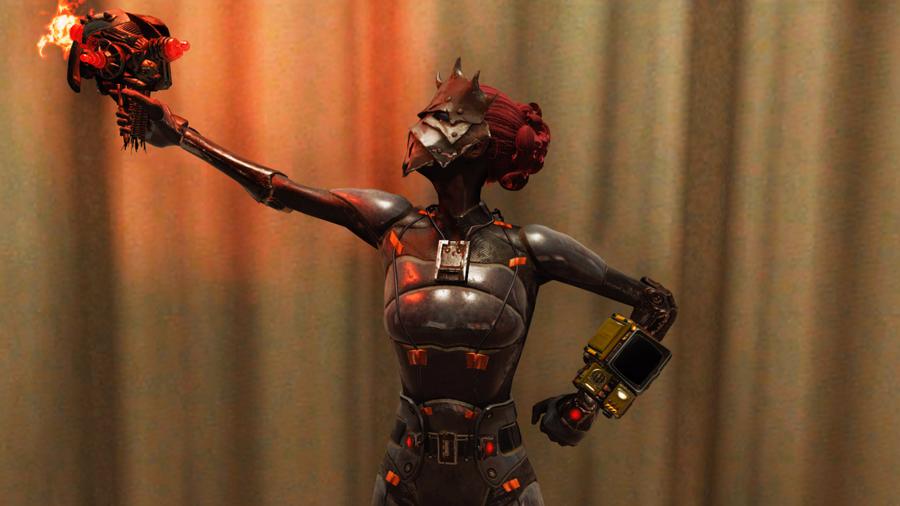 Китайская стелс броня из Fallout 76
