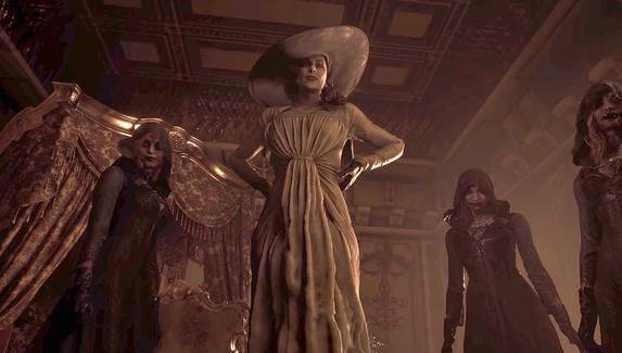 Авторы Resident Evil Village рассказали, на ком основан образ Леди Димитреску