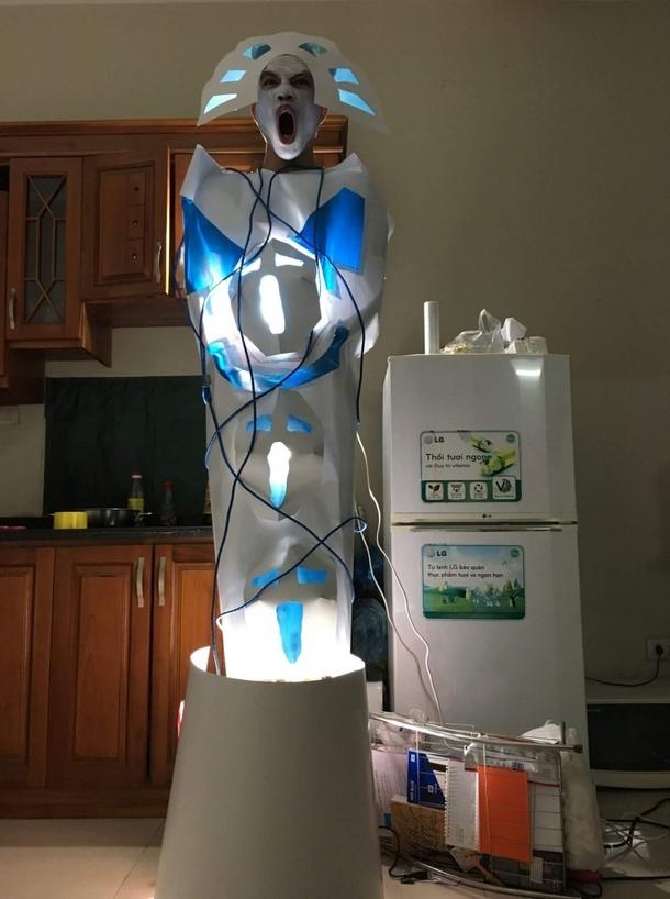 Бюджетная башня сил света с Reddit