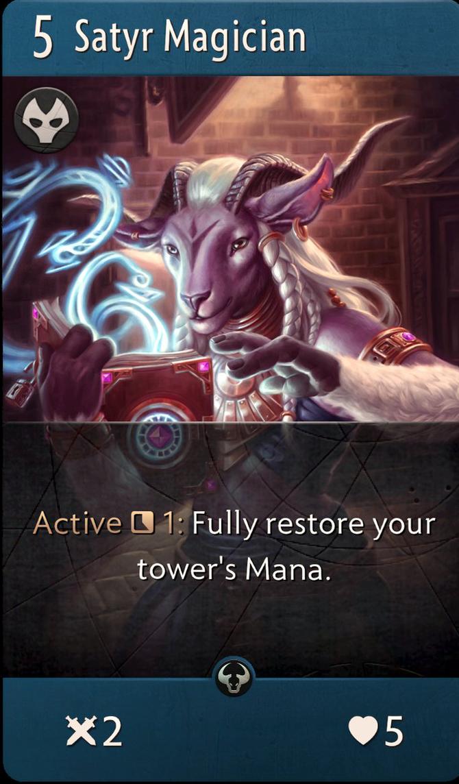 Satyr Magician