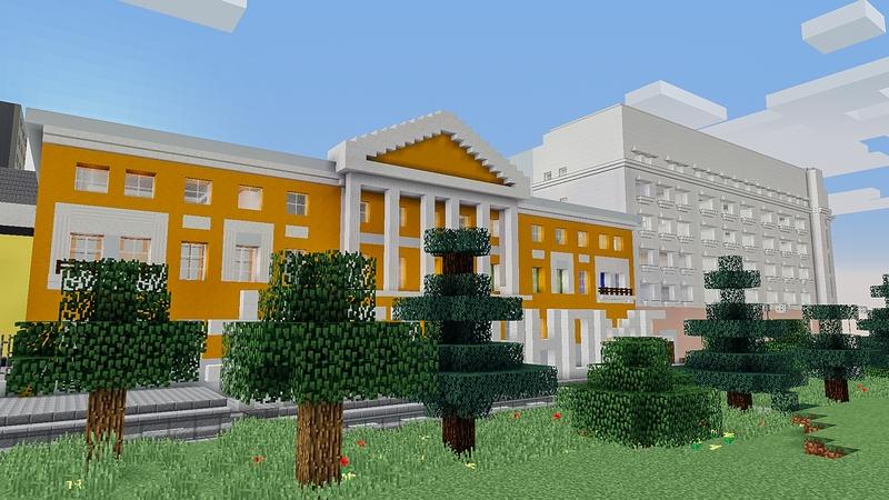 Высшая школа экономики в Minecraft | Источник: hse.ru
