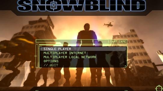 Возвращение в легенду #5 Project: Snowblind