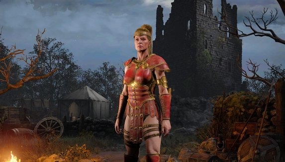Вышел ролик об амазонке из DiabloII: Resurrected