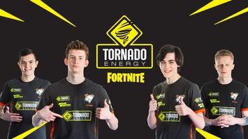 TORNADO ENERGY - титульный спонсор состава Virtus.pro по Fortnite