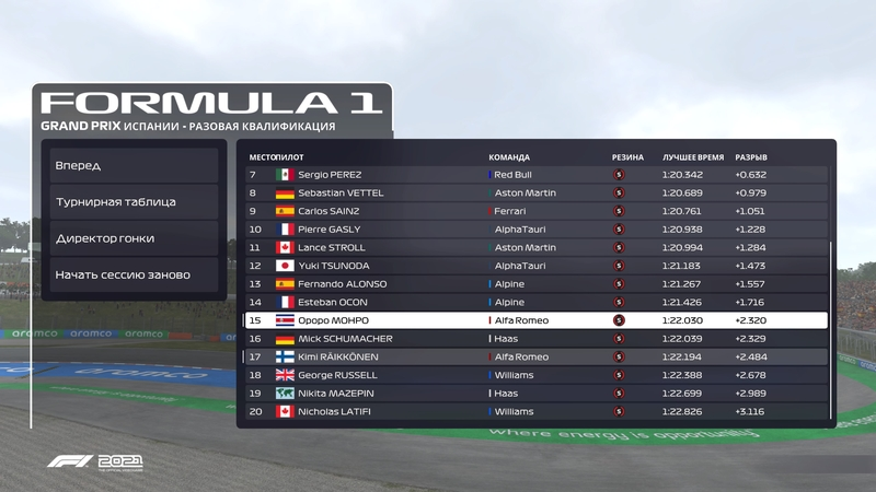 Обзор F1 2021 —прекрасная игра, отвратительное DLC