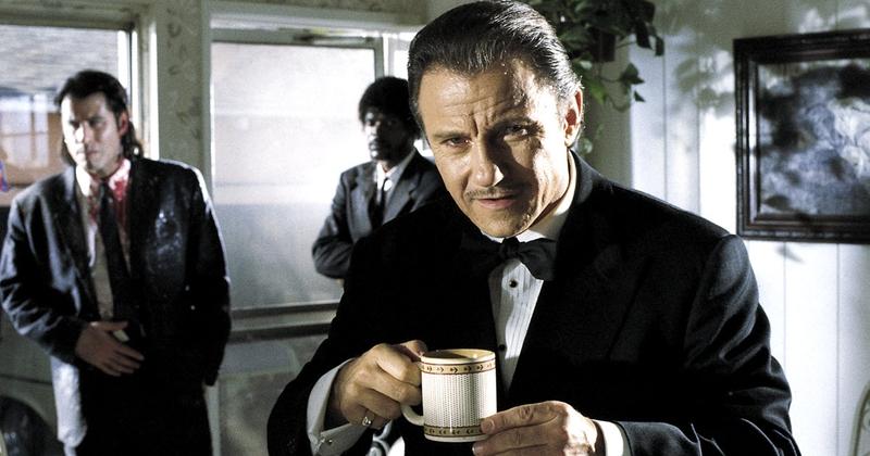Харви Кейтель в роли Винстона Вульфа. Кадр из фильма «Криминальное чтиво»
